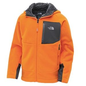 The North Face Boys' Chimborazo Jacket Hoodie L